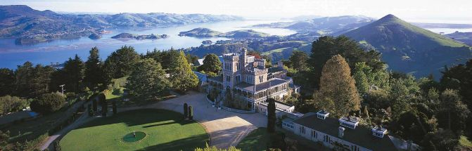 Larnach Castle Aerial