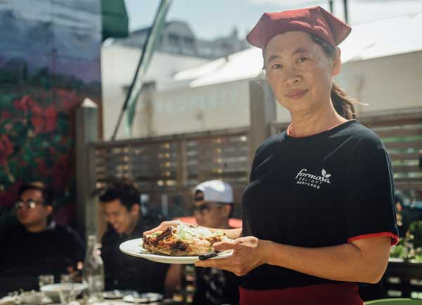 Beatrice Lin at Formosa Delight