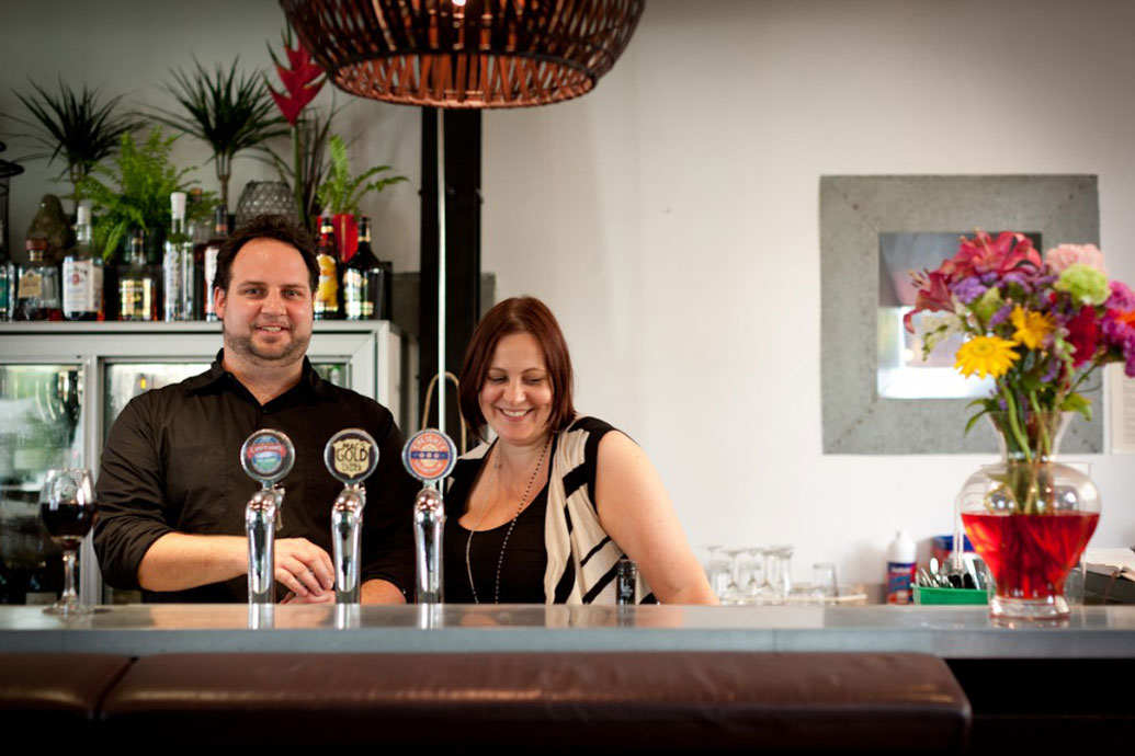 Josh Clark and Katie Ellwood - Ombrello's Kitchen & Bar