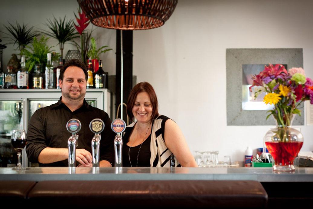 Josh Clark and Katie Ellwood - Ombrello's Kitchen & Bar