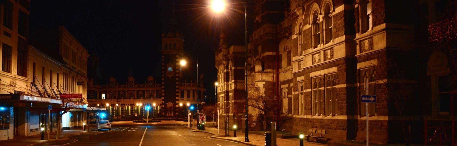 Screen Lower Stuart Street