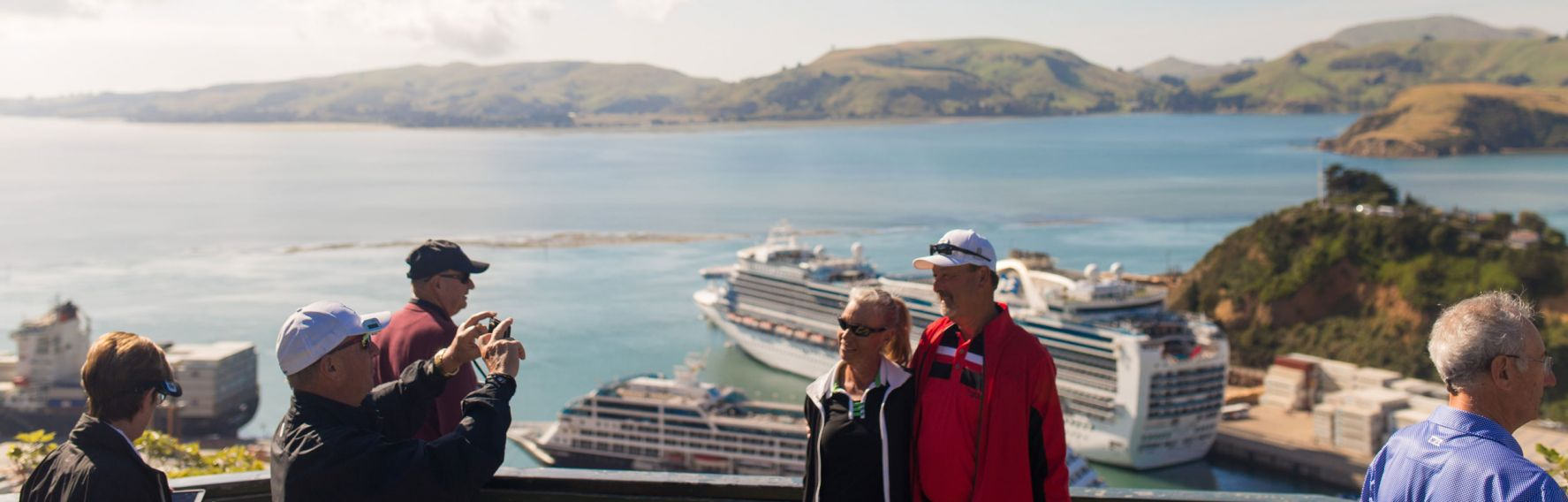Sightseeing at Port Chalmers