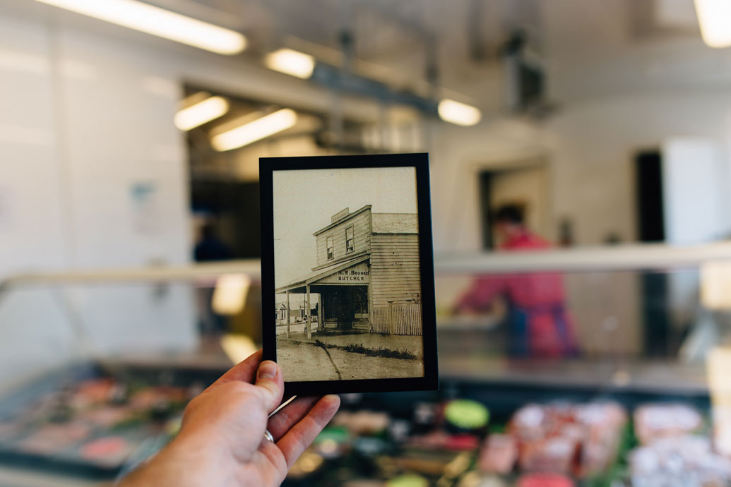 There's been a butchers shop on the same site in Outram since 1894.