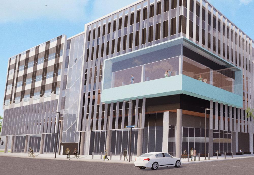 Dunedin Hospital concept drawing