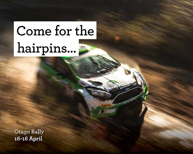 Come for the hairpins - Otago Rally