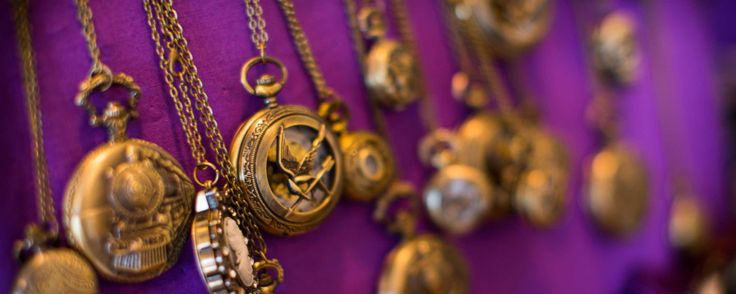 Jewellery at Aurora