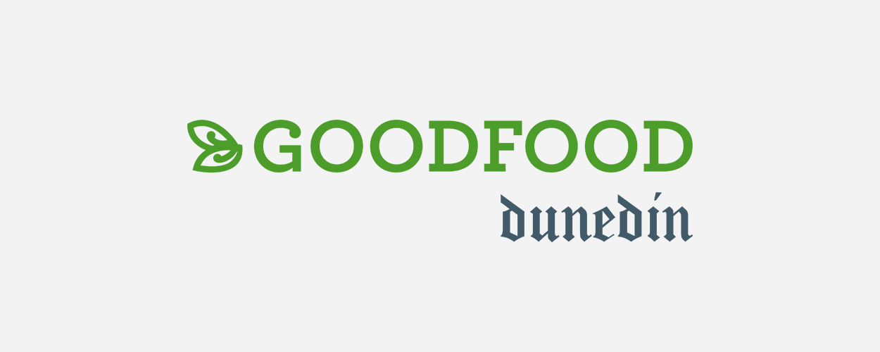 Good Food Dunedin logo