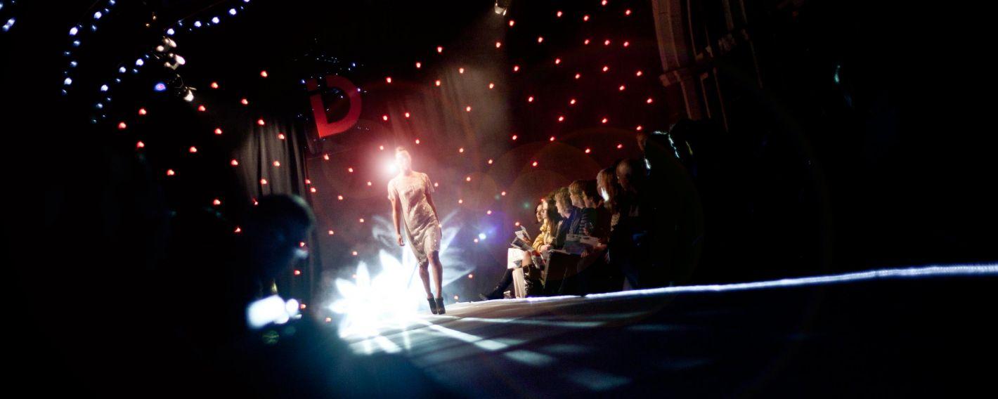 2012 Dunedin iD Fashion Show runway