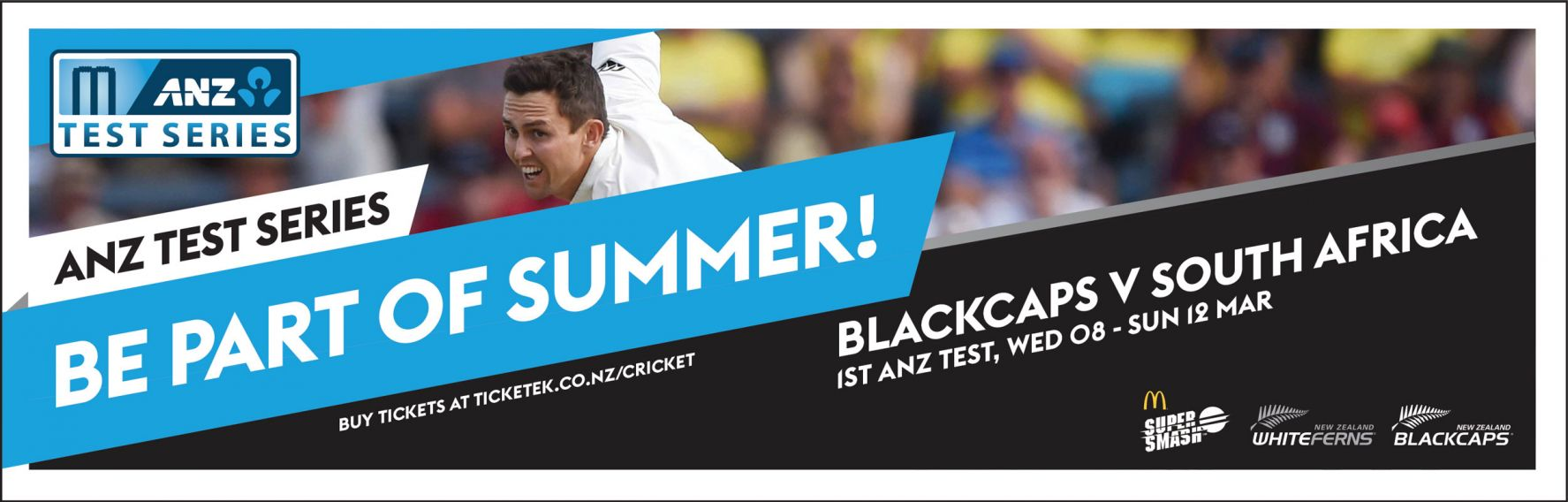 Blackcaps vs South Africa 1st ANZ Test