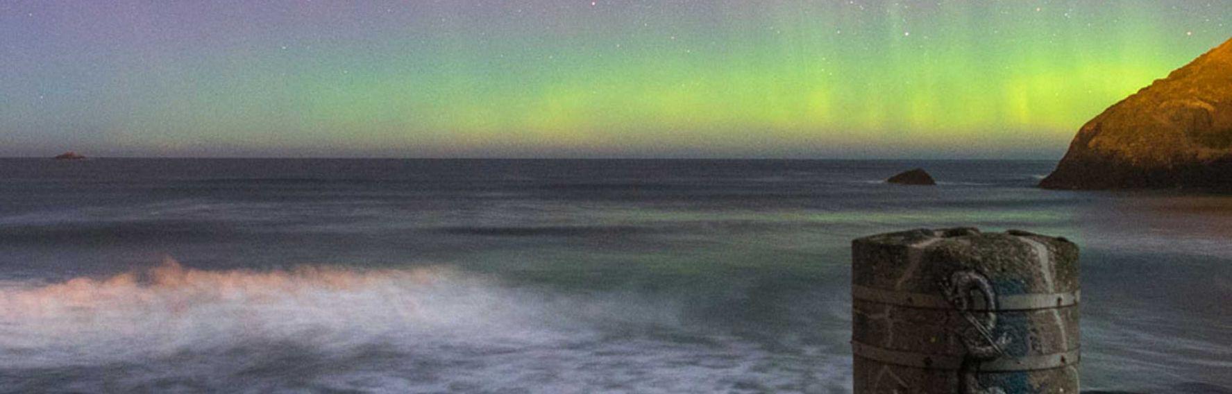 Second Beach aurora