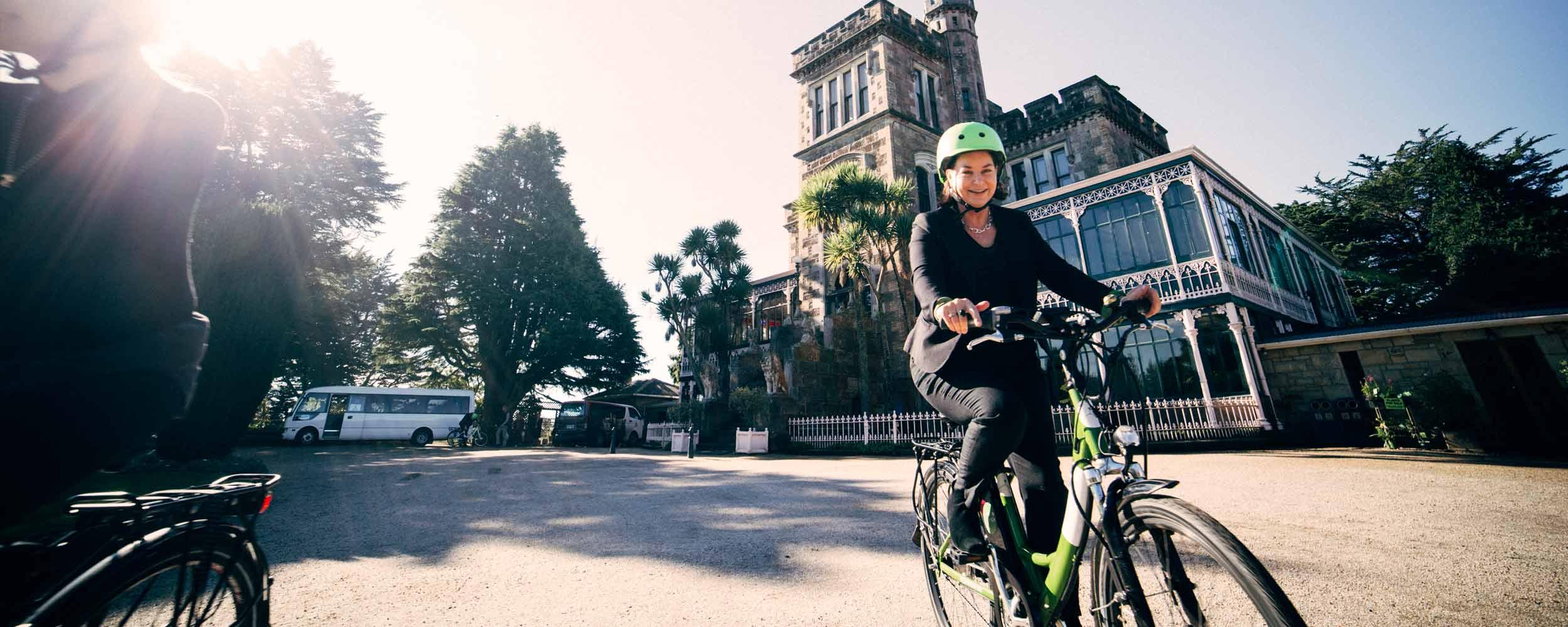 Larnach Castle Green Bikes