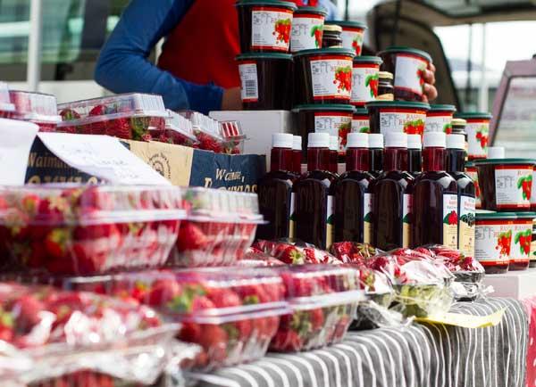 Berries & jam