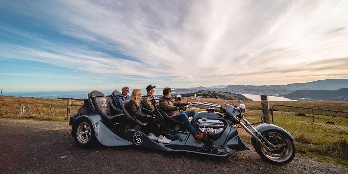 Experience Dunedin V8 trike tours