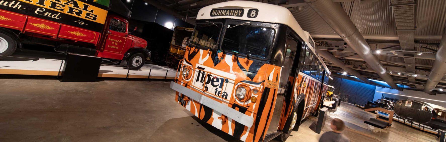 Toitu Museum bus