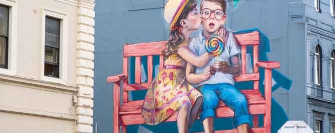 Dunedin Street Art - Natalie Rak