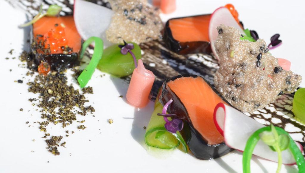 Salmon by Hannes Bareiter Glenfalloch Restaurant