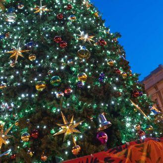 Octagon Christmas Tree