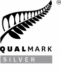 Logo of Qualmark award - Silver
