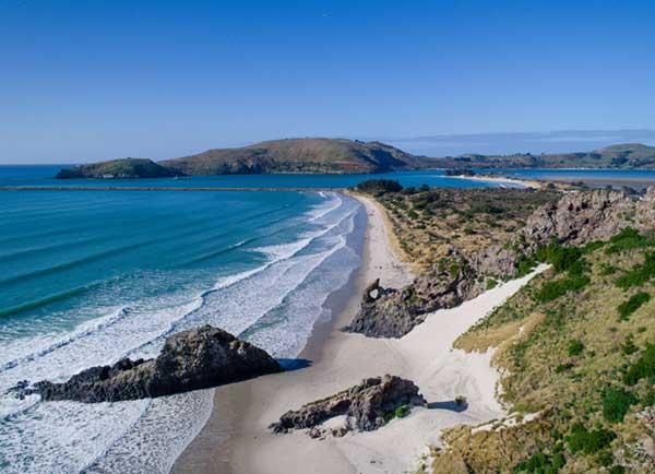 Beaches Dunedin New Zealand