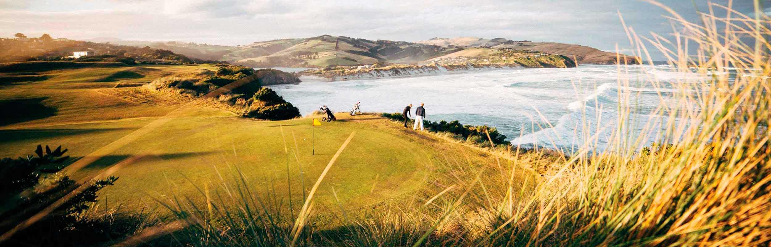 Dunedin golf course New Zealand